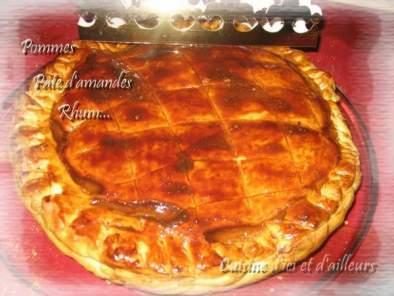 Galette Aux Pommes Et Pate D Amandes Facon Ic Recette Ptitchef