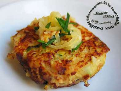 Galettes de courge spaghetti aux oignons et fromage recette ptitchef - Calories pasteque entiere ...