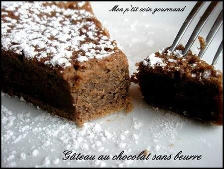 G teau au chocolat sans beurre recette ptitchef - Gateau chocolat avec huile sans beurre ...