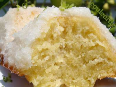 Gateau coco citron