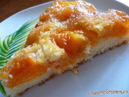 Gateau aux abricots caramelises, Recette Ptitchef