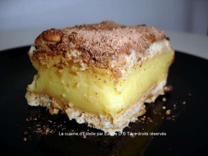 Gateau moka et petit beurre