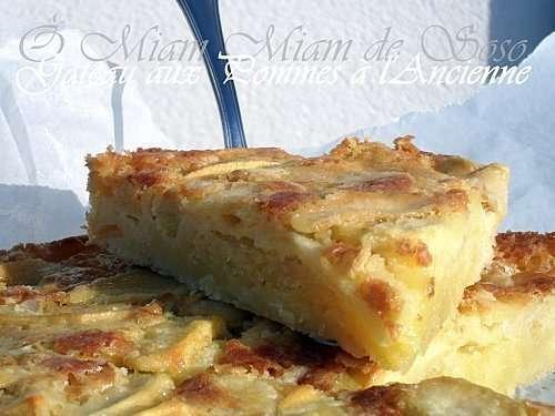 Gateau aux pommes a l 39 ancienne recette ptitchef - Recette cuisine ancienne ...
