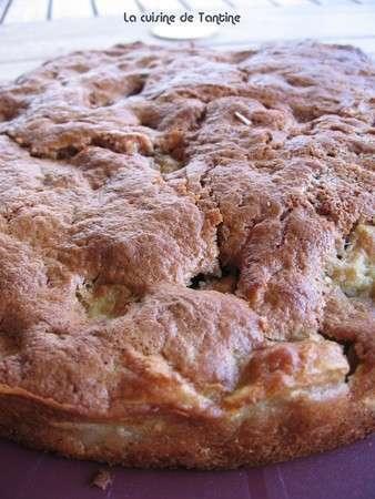 G teau aux pommes et noix de p can recette ptitchef - Gateau aux noix et pommes ...