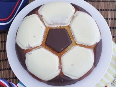 Gâteau ballon de football, photo 2