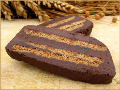 Gateau aux speculoos et chocolat sans cuisson