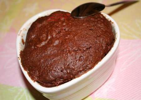 G teau coeur pour repas d 39 amoureux d ner de la st - Repas pour la saint valentin ...