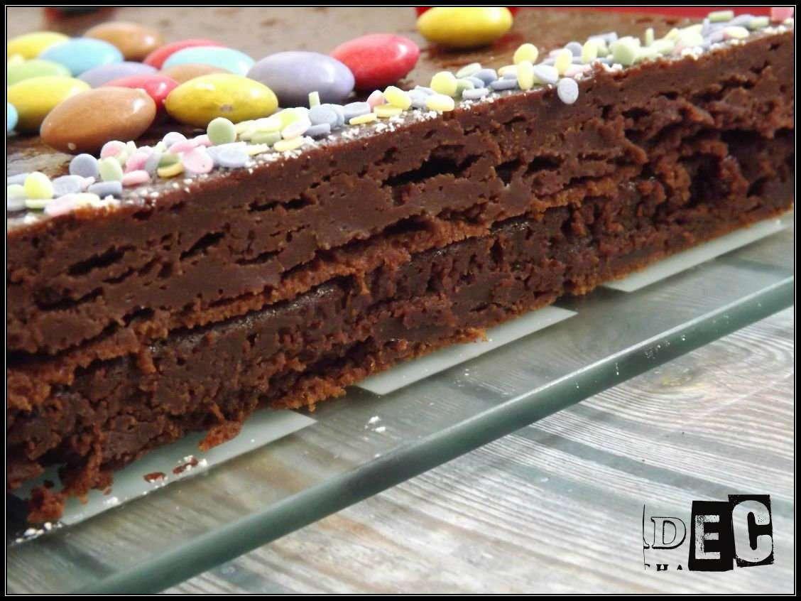 gâteau d'anniversaire au chocolat mascarpone {selon cyril lignac