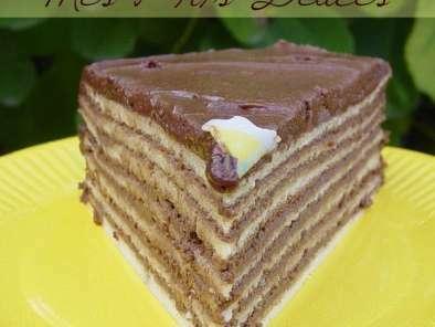 Gâteau De Crêpes à La Mousse Au Chocolat Recette Ptitchef