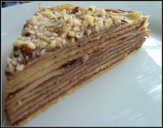 G teau de cr pes au nutella recette ptitchef - Recette gateau au nutella ...