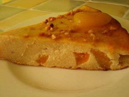 gateau de semoule aux abricots - recette ptitchef