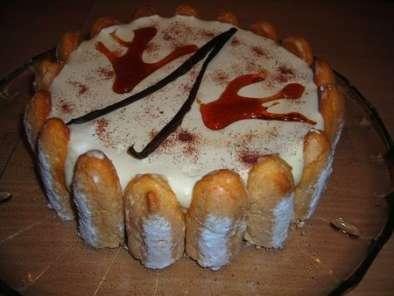 Gâteau Entremet Vanille Baileys Décor Façon Charlotte Recette