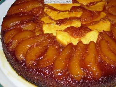 Cake Pomme Poire Poudre Amande