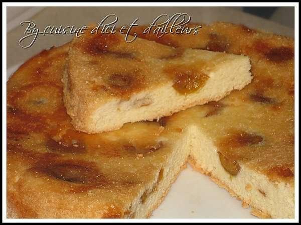 G teau lorrain aux mirabelles recette ptitchef - Recette avec des mirabelles ...