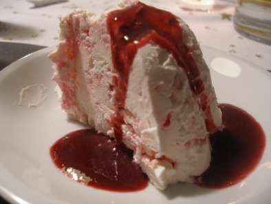 Gateau glace meringue