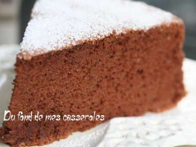 g teau moelleux chocolat carambar recette ptitchef. Black Bedroom Furniture Sets. Home Design Ideas