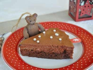 Gateau Mousse Au Chocolat Noir Poires Et Marrons Confits En Version