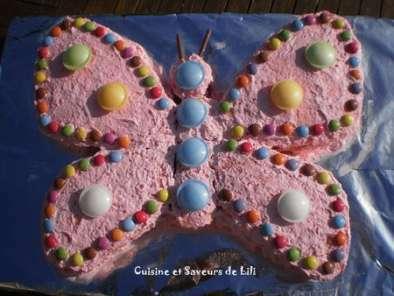 gâteau papillon, recette ptitchef