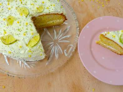 Mini Cake Leger Au Citron Pavot