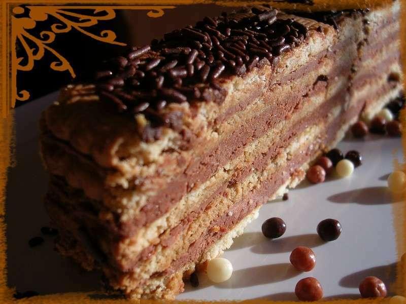 Gâteau petits bruns/chocolat à s'en lécher les doigts ...