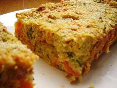 Gateau Quinoa Ricotta Et Legumes Recette Ptitchef