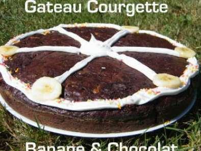 Gateau Ultra Leger Chocolat Courgette Banane Recette Ptitchef