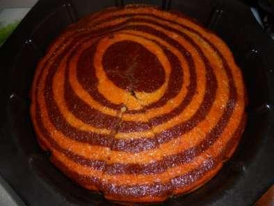 Gâteau yaourt marbré banane chocolat