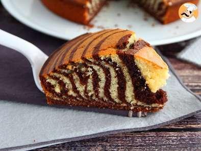 Gâteau zèbre, le marbré exotique (marbré italien)
