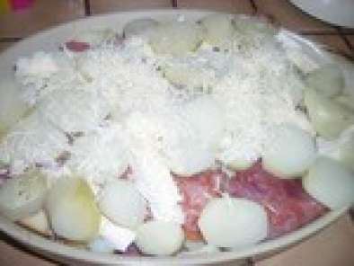 gratin avec reste fond de frigo., recette ptitchef