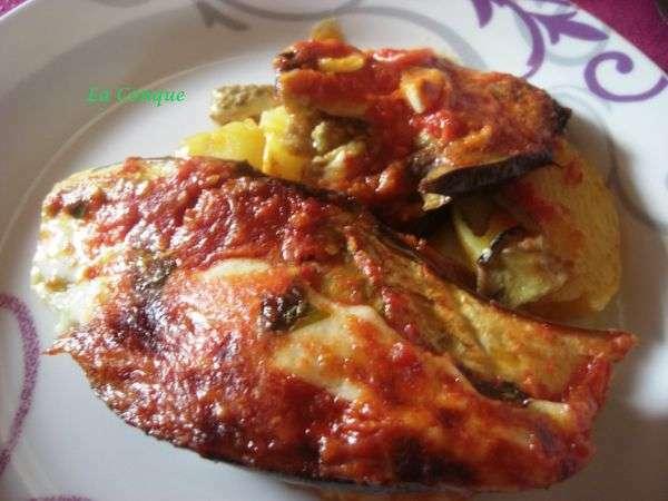 Gratin d 39 aubergines et de pommes de terre recette ptitchef - Cuisiner des tomates vertes ...