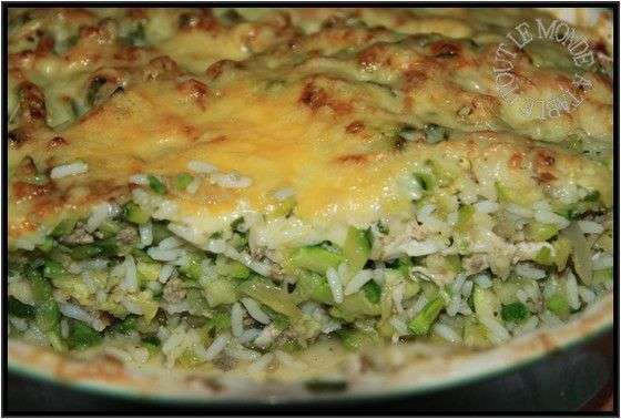 gratin de courgettes au poulet recette ptitchef. Black Bedroom Furniture Sets. Home Design Ideas