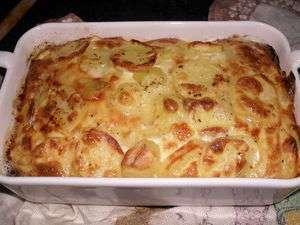 Gratin de pomme de terre au morbier recette ptitchef - Gratin de pommes de terre au four ...