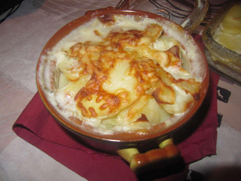 Gratin de pomme de terre aux lardons, Recette Ptitchef