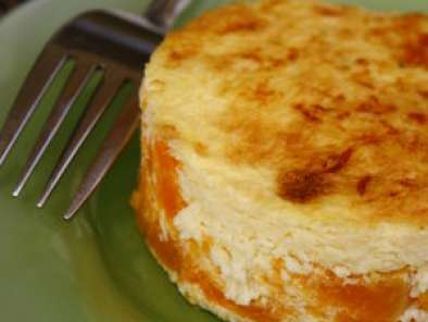 Gratin de potiron, rond, rond au fromage, Photo 2