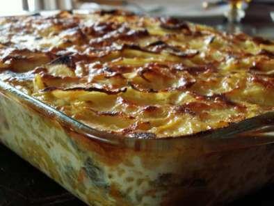 Gratin Pommes De Terre Poireaux Carottes Recette Ptitchef