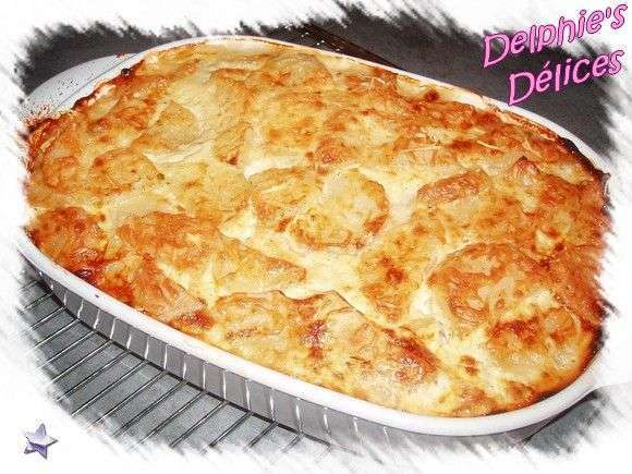 gratin pommes de terre saumon recette ptitchef. Black Bedroom Furniture Sets. Home Design Ideas