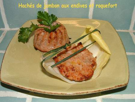 hach s de jambon aux endives et roquefort recette ptitchef. Black Bedroom Furniture Sets. Home Design Ideas