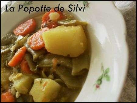 haricots coco plats en sauce avec pommes de terre portugal recette ptitchef. Black Bedroom Furniture Sets. Home Design Ideas