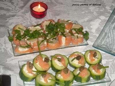 Hors d 39 oeuvres au saumon fum recette ptitchef for Hors d oeuvre avec saumon fume