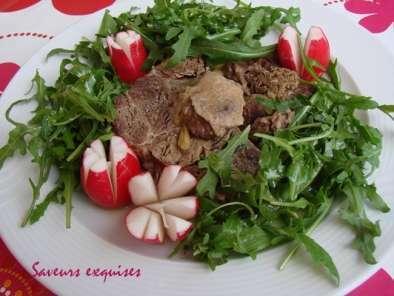 Jarret de boeuf cuit au bouillon de légumes, Recette Pchef on