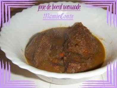 Joue de boeuf normande pour demain recette ptitchef - Recette joue de boeuf au four ...