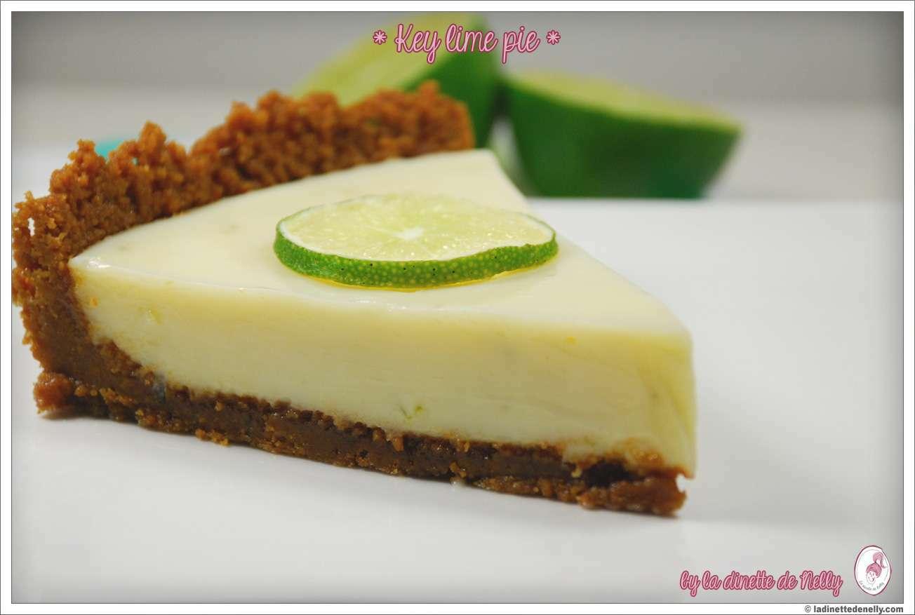 key lime pie tarte au citron vert et speculoos recette ptitchef. Black Bedroom Furniture Sets. Home Design Ideas