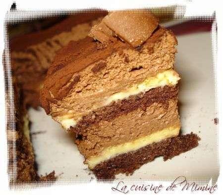 Recette Layer Cake Vanille Chocolat
