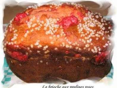 Recette brioche aux pralines roses map