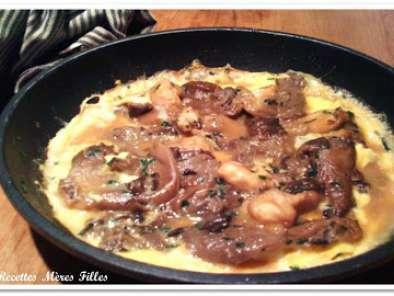 La Recette Champignons Omelette Aux Pleurotes Recette Ptitchef - Comment cuisiner les pleurotes