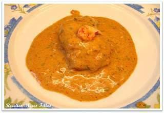 La recette poisson blanc lotte l 39 armoricaine recette ptitchef - Lotte a l armoricaine recette cuisine ...