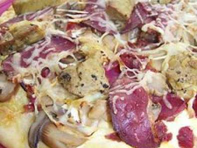 La Rolls Des Pizzas Au Foie Gras Magret Gesiers Recette Ptitchef
