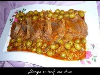 Langue De Boeuf Aux Olives A L Algerienne Recette Ptitchef