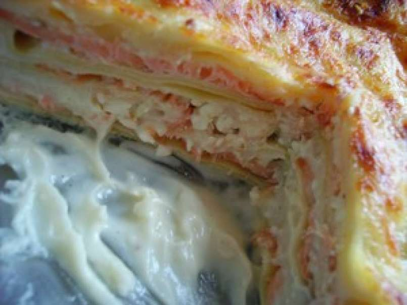 Lasagnes Au Saumon Fume Et A La Feta Recette Ptitchef