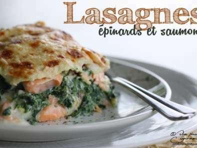 Lasagnes Aux Epinards Et Au Saumon Recette Ptitchef